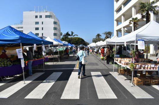 Santa Monica social distancing copy